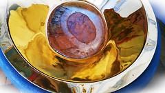 Taufbecken in der Basilika Vierzehnheiligen (Maquarius) Tags: vierzehnheiligen oberfranken franken basilika wallfahrtskirche taufbecken wunder lichtenfels bad staffelstein gold