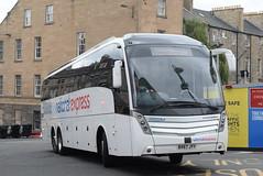NX BV67JYY @ Edinburgh bus station (ianjpoole) Tags: parks hamilton national express volvo b11rt caetano levante bv67jyy working route 548 birmingham digbeth coach station edinburgh bus