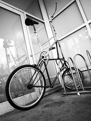 One of a kind (MomoFotografi) Tags: bike tall bicycle fun angle wideanagle zuiko