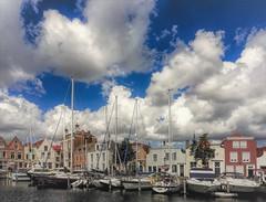 Stadshaven van Goes (CosmoClick) Tags: haven clouds wolken cosmoclick goes
