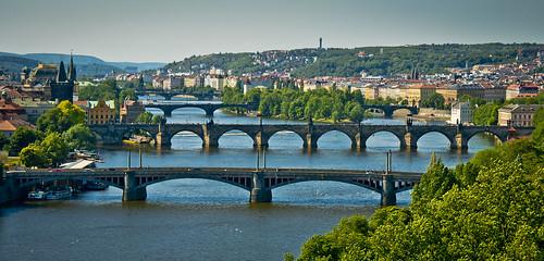 Praga, ciutat de ponts / Bridges of Prague