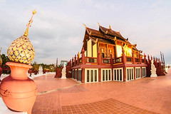 Royal Flora in Chiangmai Thailand (www.icon0.com) Tags: flora panoramic show tourism trees building cloud amazing beautiful lanna botanical pavilion thailand landmark park architecture lotusflower palace sky art famous green reflection nature asia asian chiang water flower outdoor traditional attraction panorama thaidesign culture rajapruek wooden plant temple garden style chiangmai travel lake royal