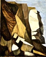 Landscape (Azenha do Mar) (1952) - Julio Pomar (1926-2018) (pedrosimoes7) Tags: juliopomar ateliermuseujuliopomar rdovale7 mercês lisbon portugal landscape paisagem