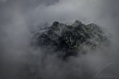 Window to the Mountain (Jan Fenkhuber Photography) Tags: landscape outdoors light romania cloud mountain transfagarasan șauacaprei weather hill rock fogromaniașauacaprei