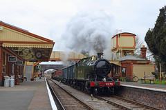 GWR @ G&WR (Treflyn) Tags: gwr great western 280 280t 4270 mixed goods train toddington station gloucestershire warwickshire steam railway 30742 charters photographic day photo charter