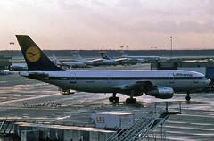Airbus A300-B4-2C  D-AIBA Lufthansa (EI-DTG) Tags: frankfurtairport fra 24jan1986 airbus a300 airbus300 lufthansa daiba