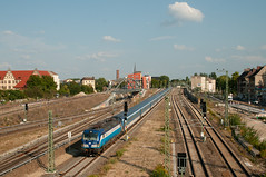3-9-2018 Berlin Ostkreuz (berlinger) Tags: berlin deutschland berlinostkreuz eisenbahn railroad railways train eurocity prague hamburg ec 378 vectron br193 locomotive lokomotive