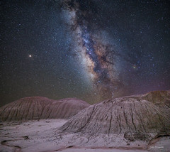 PetrifiedForest2 J (svubetcha) Tags: milky way stars night painted desert arizona