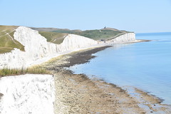 Seven Sisters and Birling Gap (PLawston) Tags: uk england britain east sussex south downs national park seven sisters country chalk cliffs belle tout lighthouse beachy head birling gap