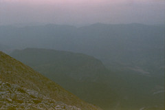 acidalia planitia (m_travels) Tags: landscape sky dusk nature плёнка mars argentique filmphotography expiredfilm 35mm provence france southoffrance mountains purple mood dream