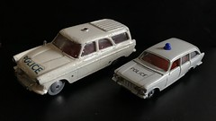 Corgi 419 Ford Zephyr Motorway Patrol and Impy Road Masters Ford Zodiac Estate Police Cars - Miniature Diecast Metal Scale Model Emergency Services Vehicles (firehouse.ie) Tags: fords polizeiauto polizeiwagen politi polis polizei polizia policia stationwagon wagon estate coches coche vintage toys toy models miniatures miniature metal model corgi impy cars car police zodiac ford