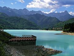 The lake of Barcis (Vid Pogacnik) Tags: italy italia lake cellina barcis carnicalps prealps prealpi mountain