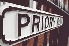 Priory Row (Slimdaz) Tags: fujixt2 coventry priory fujifilm1855mm darrensmith street sign darrensmithimages darren slimdaz