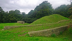 Castle Stede and WW2 Pill Box - Gressingham, Hornby (wontolla1 (Septuagenarian)) Tags: hornby wednesdaywalk walking walk hiking hike stede castle fort 11th century middle ages gressingham defence ww2 pill box