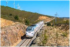 Alvia en Carbajales (440_502) Tags: 730 alvia híbrido grupo renfe operadora viajeros talgo madrid chamartín carbajales de alba galicia ferrol