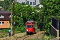 Esslingen GT4 #111 R.A.T.P. Iaşi (3x105Na) Tags: esslingen gt4 111 ratp iaşi strassenbahn strasenbahn tram tramwaj rumunia rumänien