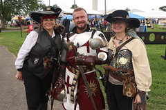 A Knight and His Ladies (Itinerant Wanderer) Tags: pennsylvania buckscounty wrightstown villagerenaissancefaire