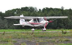 G-CGWA (goweravig) Tags: gcgwa resident swansea wales uk swanseaairport ikarus c42 fb80 bravo aircraft