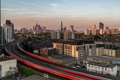 City Trains (JH Images.co.uk) Tags: london dir trains train tracks hdr dri city cityscape skyscraper skyline transport