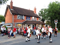 The End of Summer (yateleyart) Tags: kmmpic kennet morris men the sun pub whitchurch hill dancers