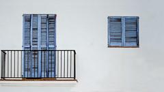 Shutters.. (Philip R Jones) Tags: shutters spain ibiza oldtown worn old ruleofthirds hss sliderssunday