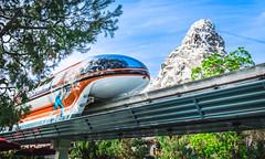 Monorail Meets Matterhorn Disneylan (jimisPHOTOS) Tags: disney disneyland waltdisneyworld travel fun themepark california anaheim