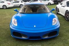 Mazda Racing Blue Ferrari F430 (Hunter J. G. Frim Photography) Tags: supercar car week carmel monterey 2018 carweek ferrari f430 coupe blue blu v8 italian mazda racing ferrarif430 mazdaracingblue