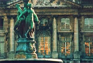 Fontaine des Trois Grâces.