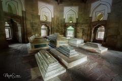 Eternal rest (marko.erman) Tags: india newdelhi isakhan tomb cenotaphs islam religion mughalempire architecture serenity history humayunstomb unesco worldheritagesite travel popular sony marble wide angle pov