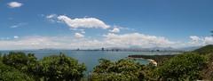 Vista su DA NANG (Vinh To 1938) Tags: vietnam panorama panoramic danang da nang sea mare view asia 2018 photomerge vittorio cera canon 70d