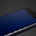 Phone screen emitting harmful blue light
