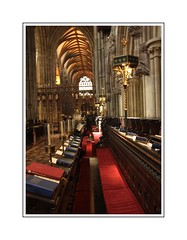 Lichfield Cathedral (Audrey A Jackson) Tags: canon60d lichfield staffordshire cathedral history religion arches candles bibles colour red