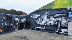 Katos / Dok Noord - 3 sep 2018 (Ferdinand 'Ferre' Feys) Tags: gent ghent gand belgium belgique belgië streetart artdelarue graffitiart graffiti graff urbanart urbanarte arteurbano ferdinandfeys