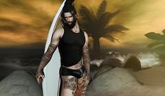 † 1041 † (Nospherato Destiny) Tags: secondlife sl avatar event blogger virtual tattoo beard volkstone legalinsanity hipstermenevent accessevent dubaievent