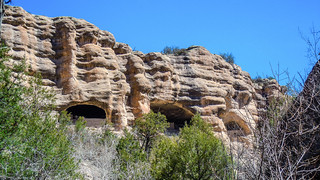 Gila Cliff Dwellings, NM, USA