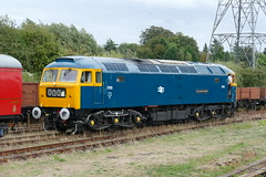 """1705 """"Sparrowhawk"""" at Swithland Sidings GCR (Mark Bowerbank) Tags: 1705 sparrowhawk swithland sidings gcr brushtype4 class47"""