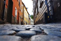 Gamla Stan (Douguerreotype) Tags: sweden city street buildings sverige stockholm cobblestones architecture urban
