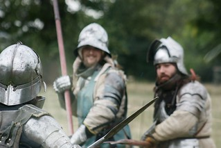 Medieval Training Camp re-enactment