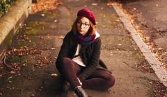 Autumn walk. (Jarriet Poter) Tags: autumn walk portrait warm tones edinburgh scotland sony a7 ii zeiss 55 mm 55mm 18