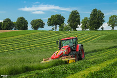 Cut of Grass | ZETOR // PÖTTINGER (martin_king.photo) Tags: springwork springwork2018 silage silage2018 zetor outdoor today claasworldwide pöttinger tree trees landscape meadow field green tractor red strong huge big machine sky martin king photo agriculture machinery machines tschechische republik powerfull power dynastyphotography lukaskralphotocz agricultural great day czechrepublic fans work place tschechischerepublik martinkingphoto welovefarming working modern landwirtschaft colorful colors blue photogoraphy photographer canon love farming daily tires onwheels farm skyline highlands spring beautiful nice world painting scenery europe texture view