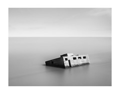 End of the World (Illogical_images) Tags: sunken bunker longexposure ww2 bnw blackandwhite illogicalimages sony a7r mono decay zen
