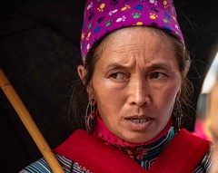 Hmong Woman (Rod Waddington) Tags: vietnam vietnamese hmong woman minority portrait people indoor candid streetphotography traditional tribe tribal culture cultural ethnic ethnicity