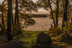 Danish secret (ghismou1981bo) Tags: denmark lake trees lakeside sunset landscape nikon 35mm