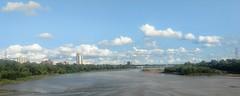At Long Last (brev99) Tags: arkansasriver tulsariverwalk droidzforce cameraphone landscape river