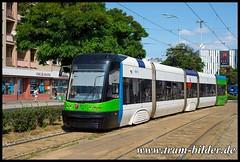 803-2018-08-21-1-H Plac Rodla (steffenhege) Tags: polen stettin strasenbahn streetcar tram tramway pesa swing niederflurwagen 803