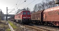 14_2007_03_26_Herne_Rottbruch_DB_232_514_mit_Themohauben-_und_Flachwagen_DB_152_168_mit_Coilzug_Bochum_Nord (ruhrpott.sprinter) Tags: ruhrpott sprinter deutschland germany allmangne nrw ruhrgebiet gelsenkirchen lokomotive locomotives eisenbahn railroad rail zug train reisezug passenger güter cargo freight fret herne rottbruch abzw abellio abrn db dbcargo logistics de dortmundereisenbahn hwb hochwaldbahn railion vt 140 152 185 225 232 364 745 coils logo natur outddor