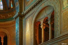 Mistero affascinante (danilocolombo69) Tags: carolingi bizantini romani santuario nsdellaneve bifore trifore archi danilocolombo danilocolombo69 nikonclubit affreschi architettura