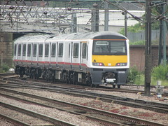 Greater Anglia 321315 leaving Doncaster (Clarky 16) Tags: 321315 first great eastern overhead electric class 321 multiple unit emu br british rail engineering limited brel york