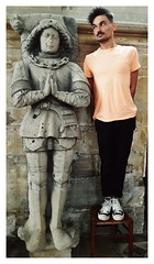 ca. 1485-1492 - 'Florimond de Villers-Saint-Paul (+1472)', Abbaye Saint-Lucien, Beauvais, Église Sainte-Maure-et-Sainte-Brigide, Nogent-sur-Oise, dép. Oise, France (roelipilami (Roel Renmans)) Tags: 1472 1473 1485 1492 florimond de villers saint paul église sainte maure brigide nogentsuroise oise picardy picardie beauvais lucien st abbaye abbey abtei effigy efigie tomb dalle funéraire tombale pierre gisant grabmal armor armour france standard plate armadura rüstung armatura knight chevalier ritter ridder grafmonument tabard doublet cushion gaignières mail skirt maille cotte chain heraldic church monument kirche kerk iglesia tassets poleyn greave bear paw sabaton roel renmans