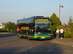 Redfern 63RT Derby Roundhouse (Guy Arab UF) Tags: redfern travel 63rt daf sb4000 van hool alizee t9 coach roundhouse road derby rail replacement bus service derbyshire buses yj58fhu united states department defence